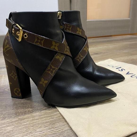 Louis Vuitton Monogram boots